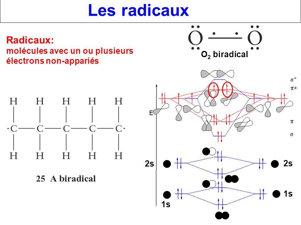 Les radicaux Radicaux: