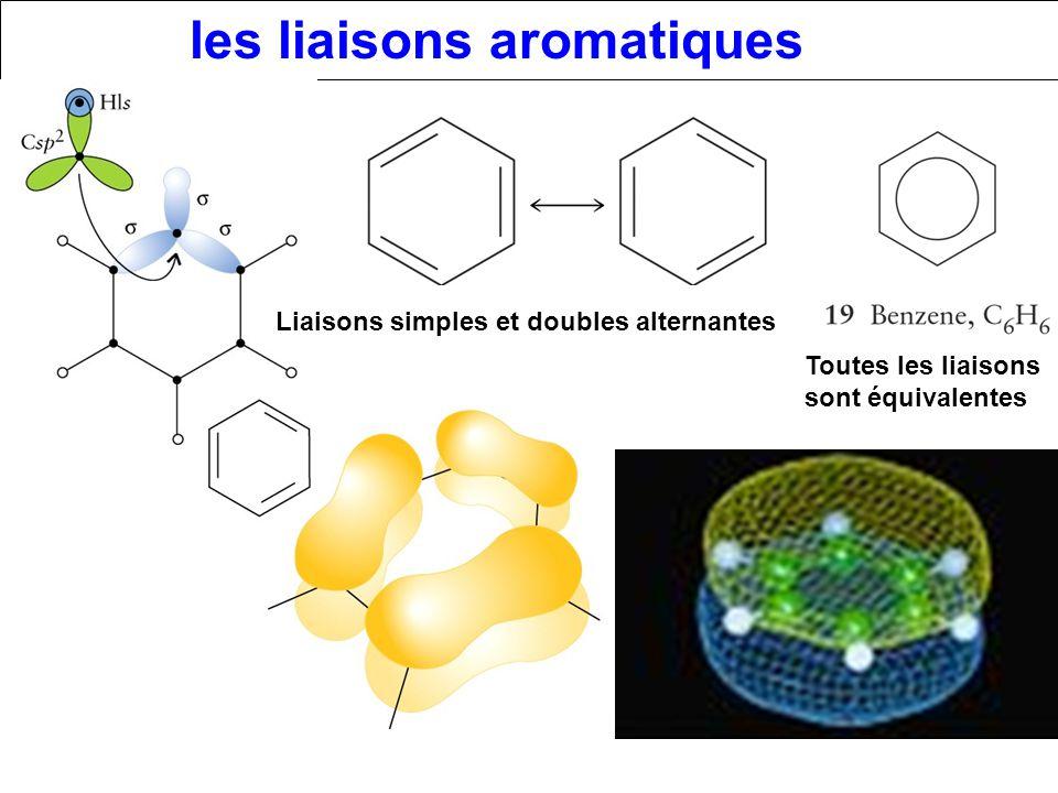 les liaisons aromatiques