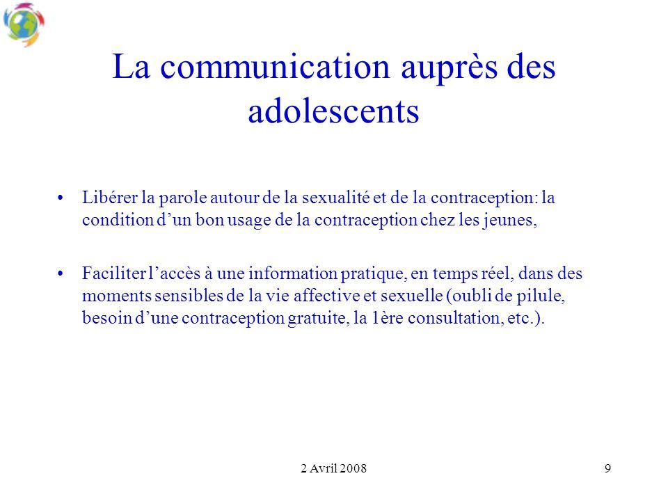 La communication auprès des adolescents
