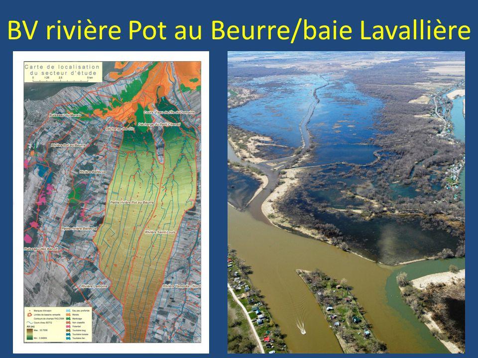 BV rivière Pot au Beurre/baie Lavallière