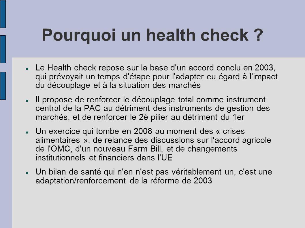 Pourquoi un health check