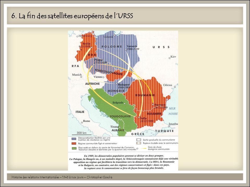 6. La fin des satellites européens de l'URSS