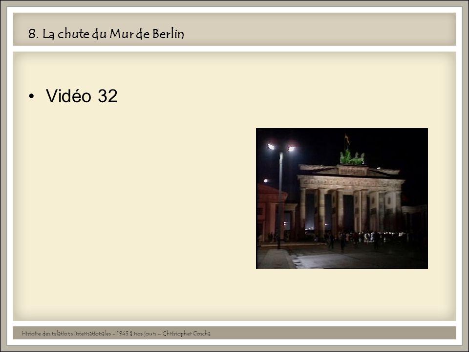 8. La chute du Mur de Berlin