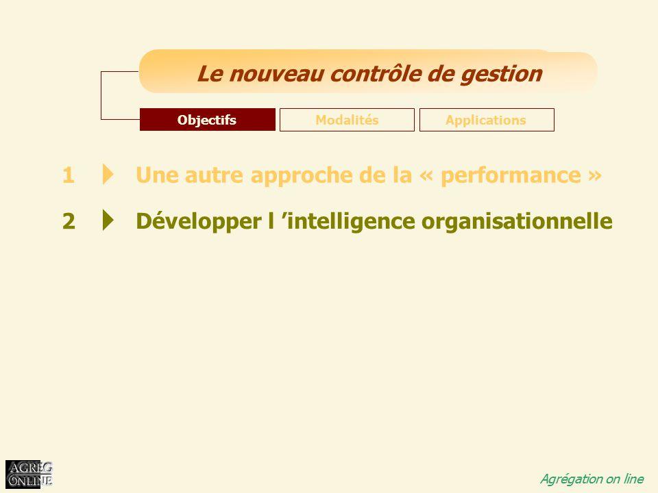 Une autre approche de la « performance »