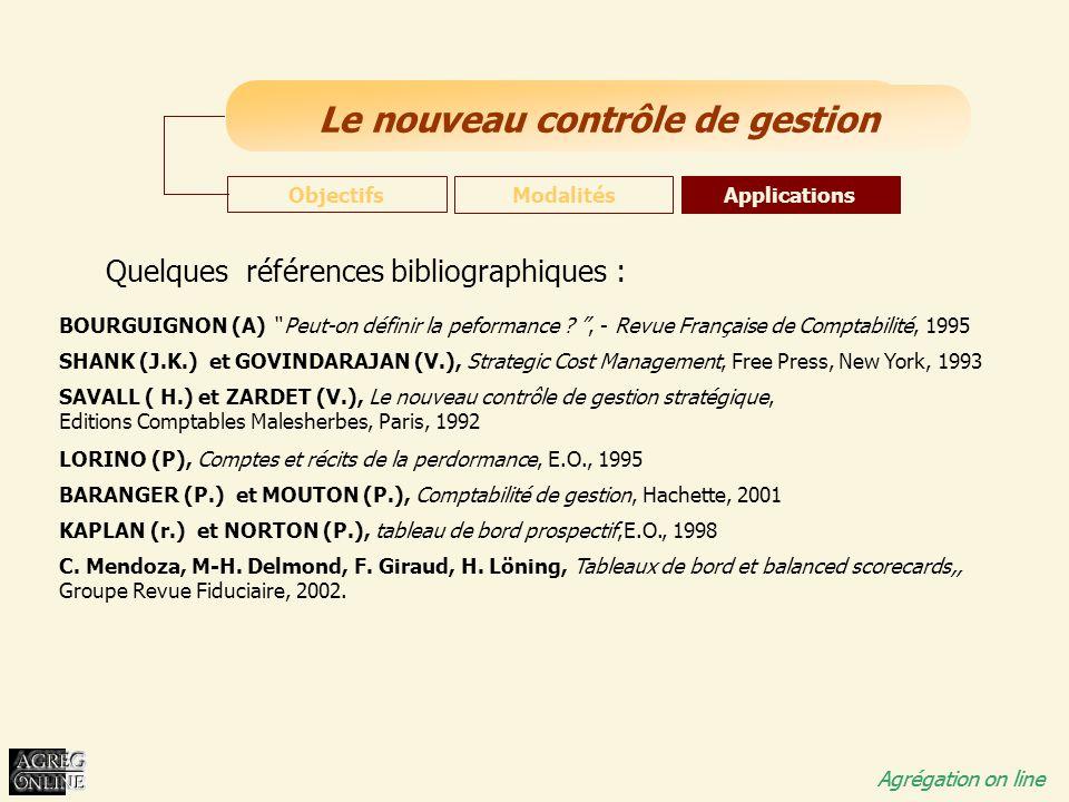 Quelques références bibliographiques :