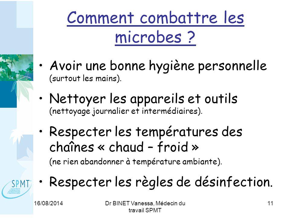 Comment combattre les microbes