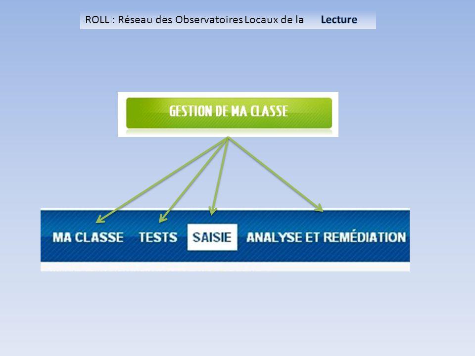 ROLL : Réseau des Observatoires Locaux de la