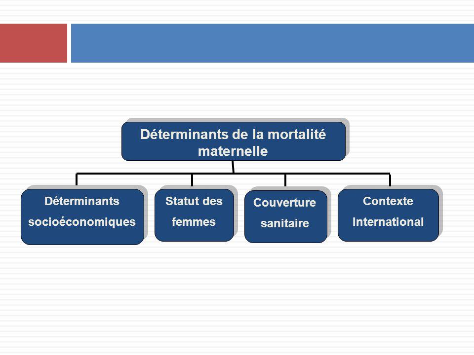 Déterminants de la mortalité maternelle