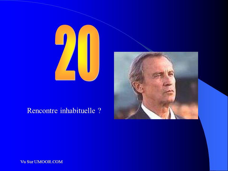 20 Rencontre inhabituelle Vu Sur UMOOR.COM