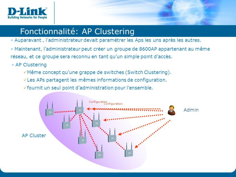 Fonctionnalité: AP Clustering
