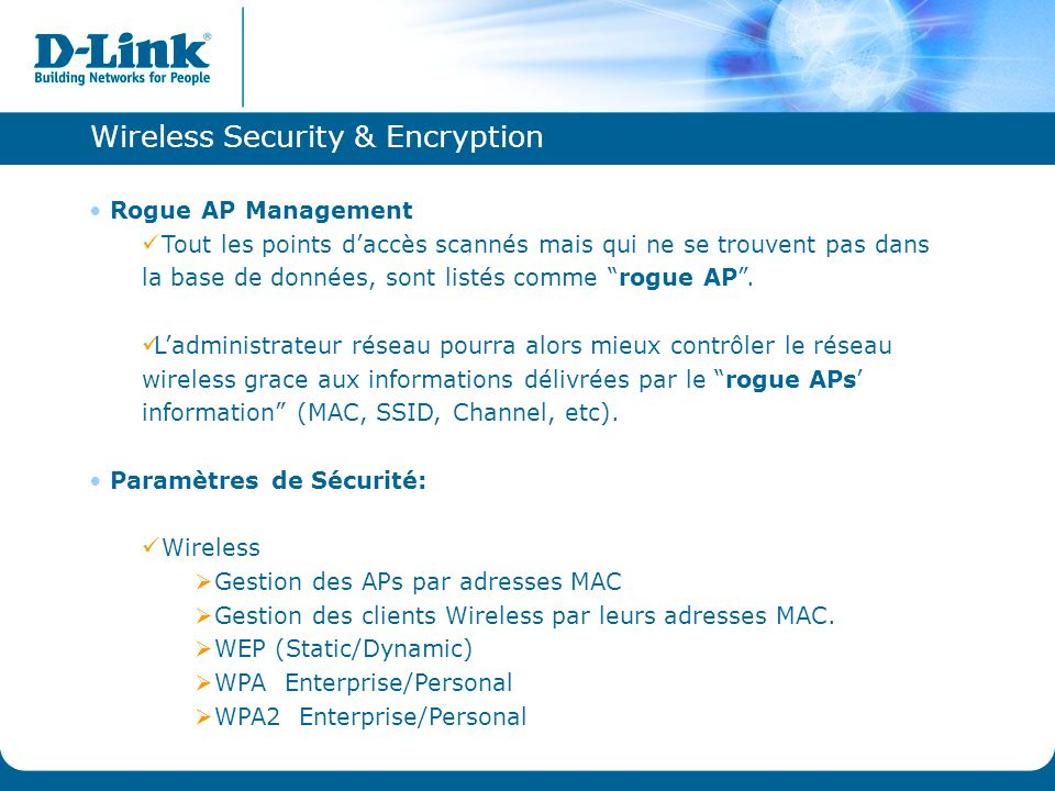 Wireless Security & Encryption