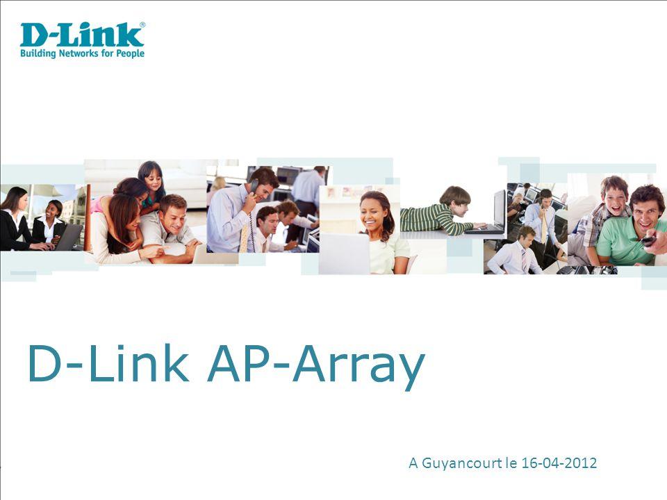 D-Link AP-Array A Guyancourt le 16-04-2012