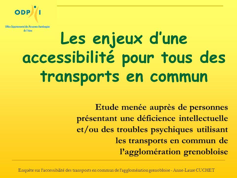Les enjeux d'une accessibilité pour tous des transports en commun