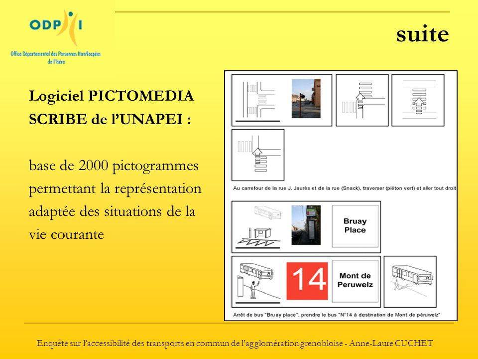 suite Logiciel PICTOMEDIA SCRIBE de l'UNAPEI :