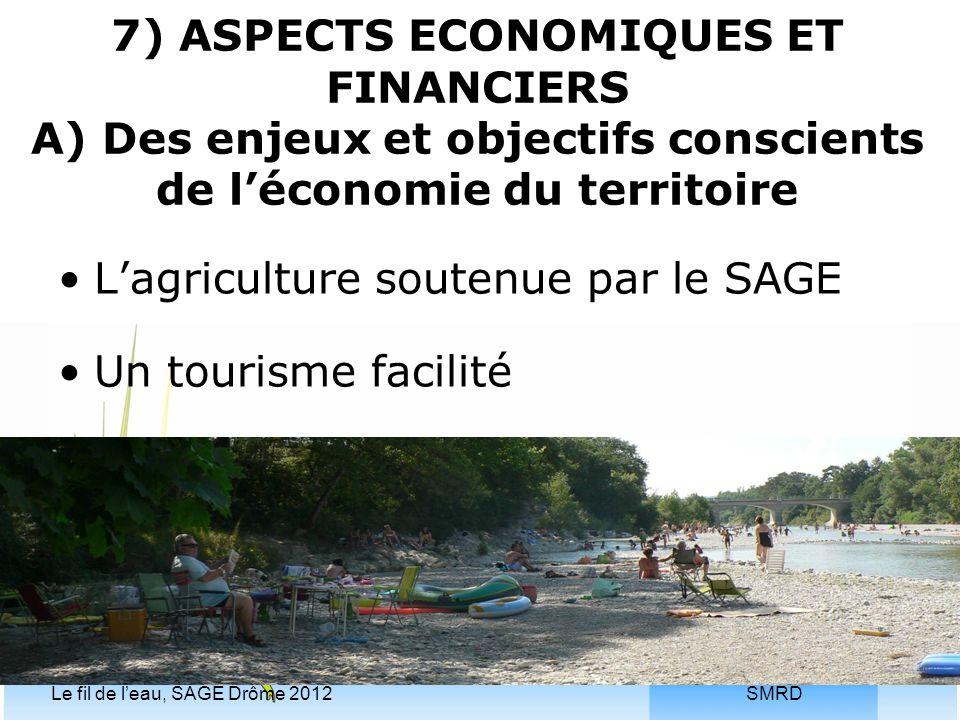 L'agriculture soutenue par le SAGE Un tourisme facilité