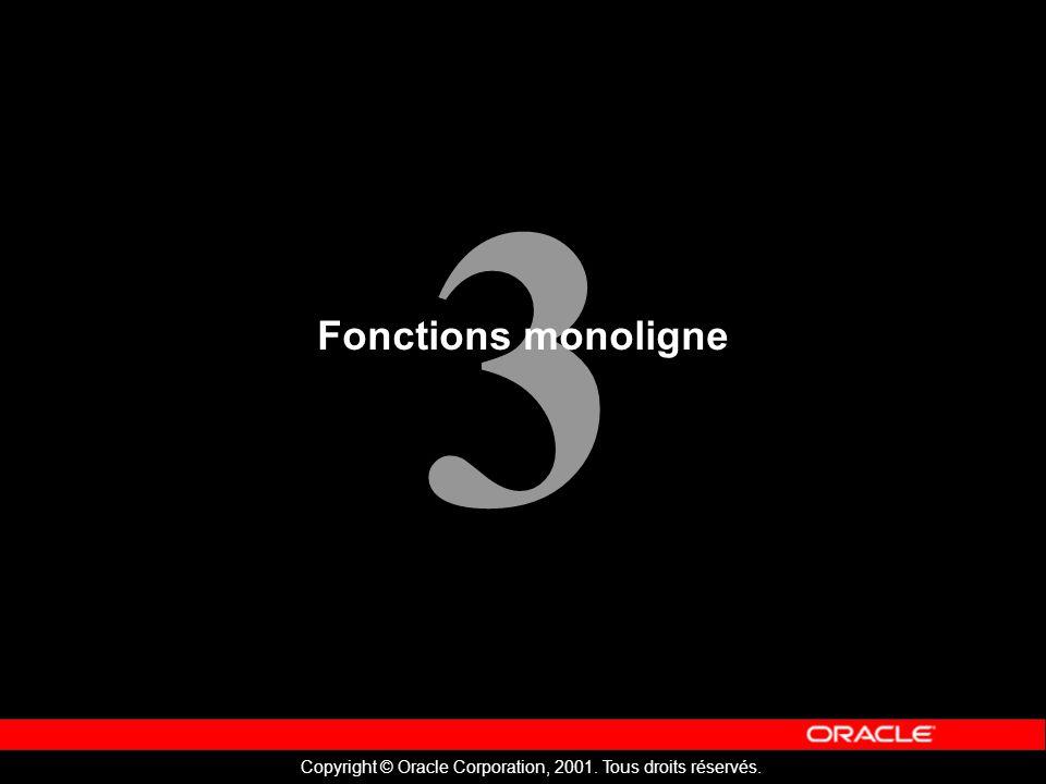 Fonctions monoligne