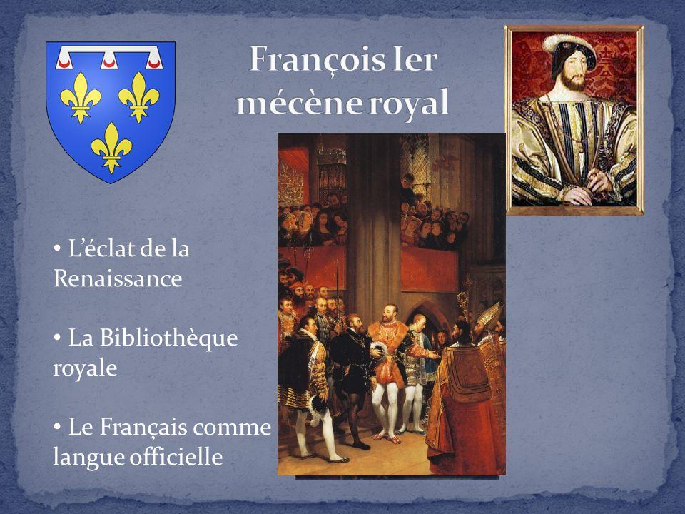 François Ier mécène royal