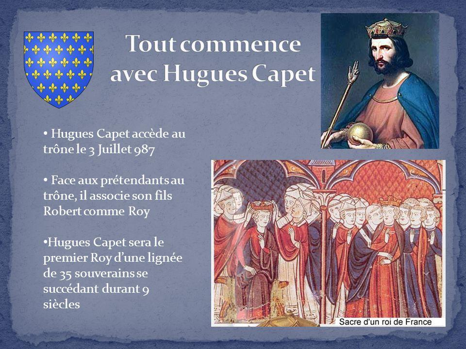 Tout commence avec Hugues Capet