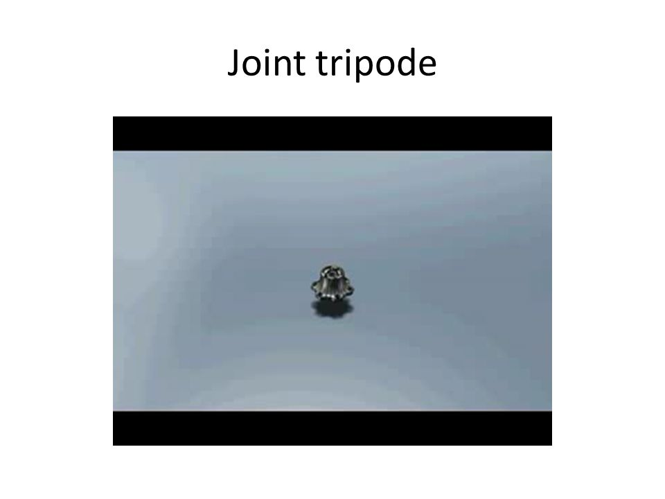 Joint tripode