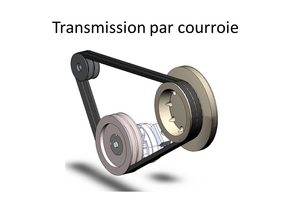 Transmission par courroie