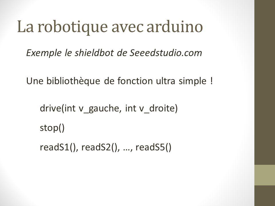 La robotique avec arduino