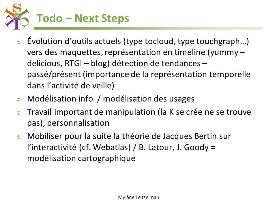Todo – Next Steps