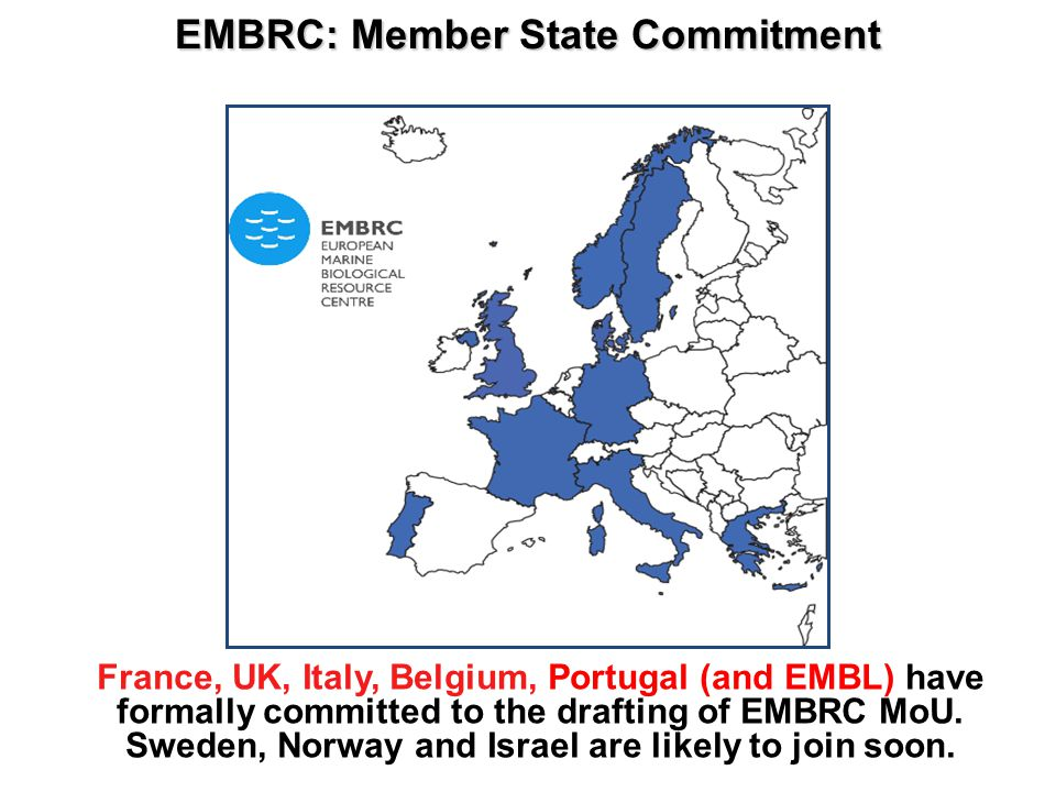 EMBRC: Member State Commitment