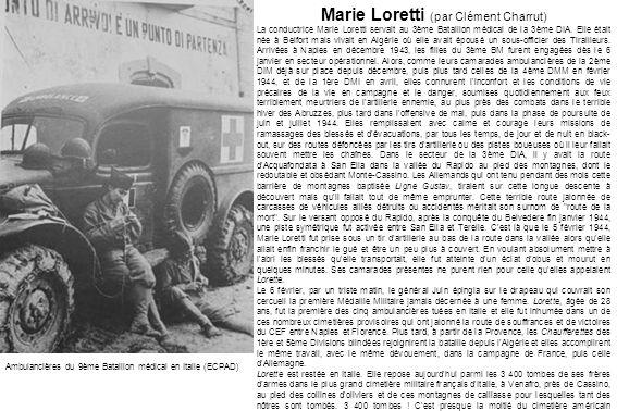 Marie Loretti (par Clément Charrut)
