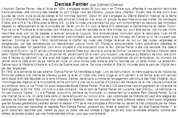 Denise Ferrier (par Clément Charrut)