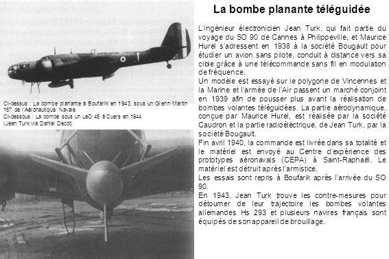 La bombe planante téléguidée