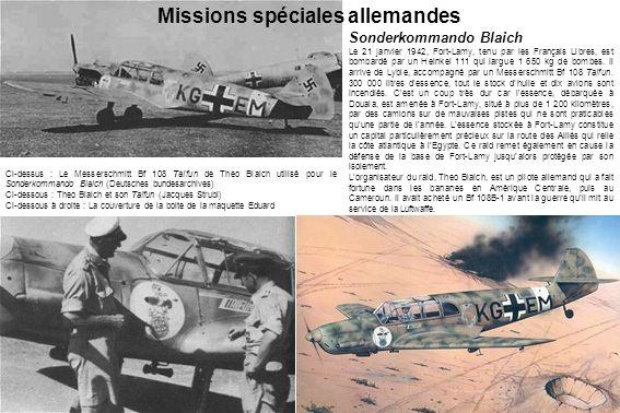 Missions spéciales allemandes