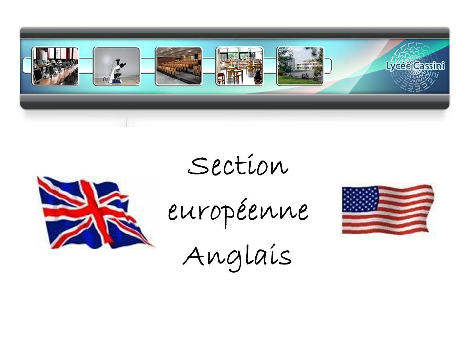 section europ u00e9enne anglais