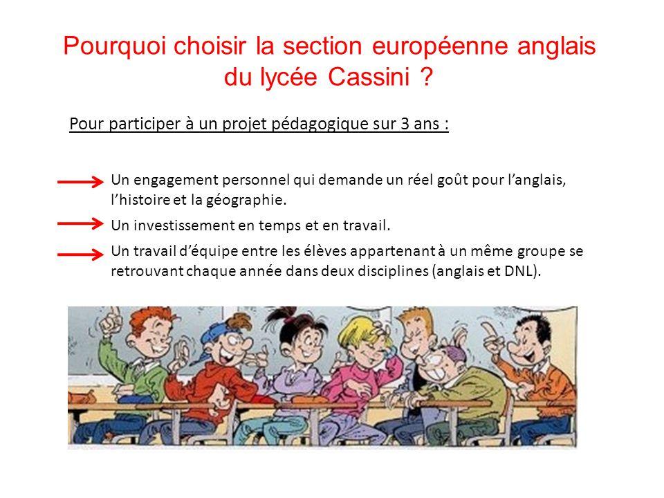 Pourquoi choisir la section européenne anglais