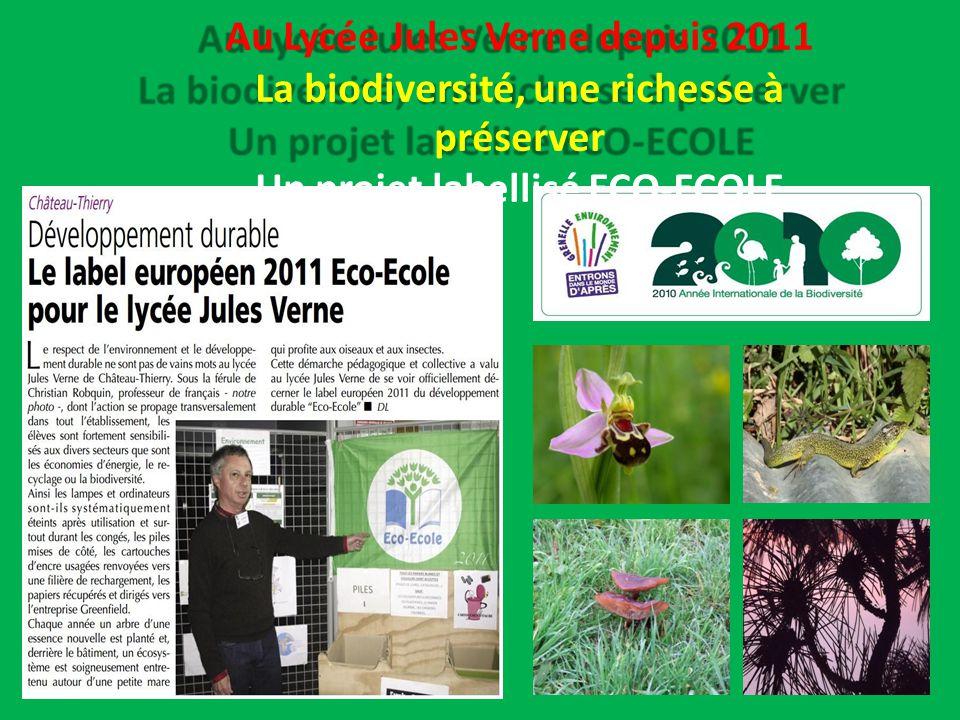 Un projet labellisé ECO-ECOLE