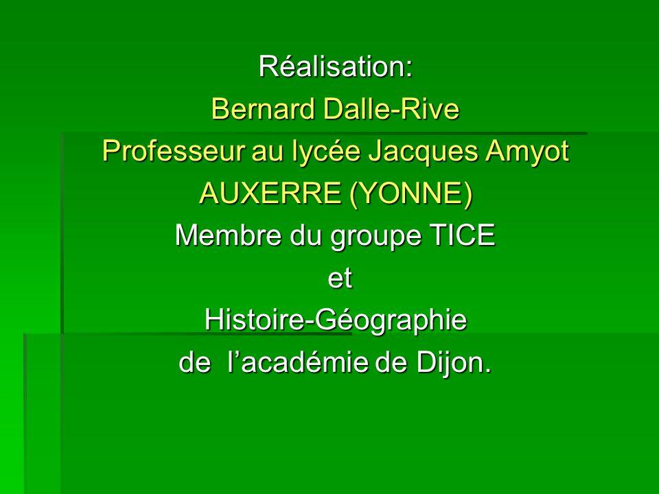Professeur au lycée Jacques Amyot