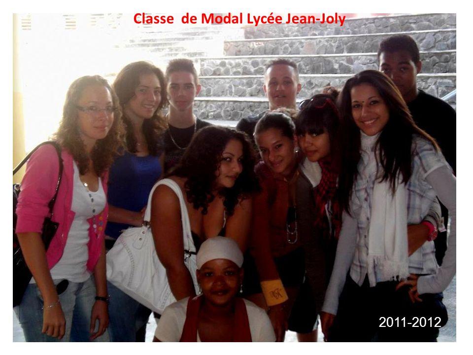 Classe de Modal Lycée Jean-Joly