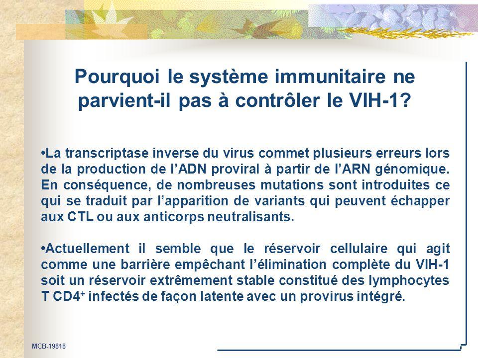 Pourquoi le système immunitaire ne