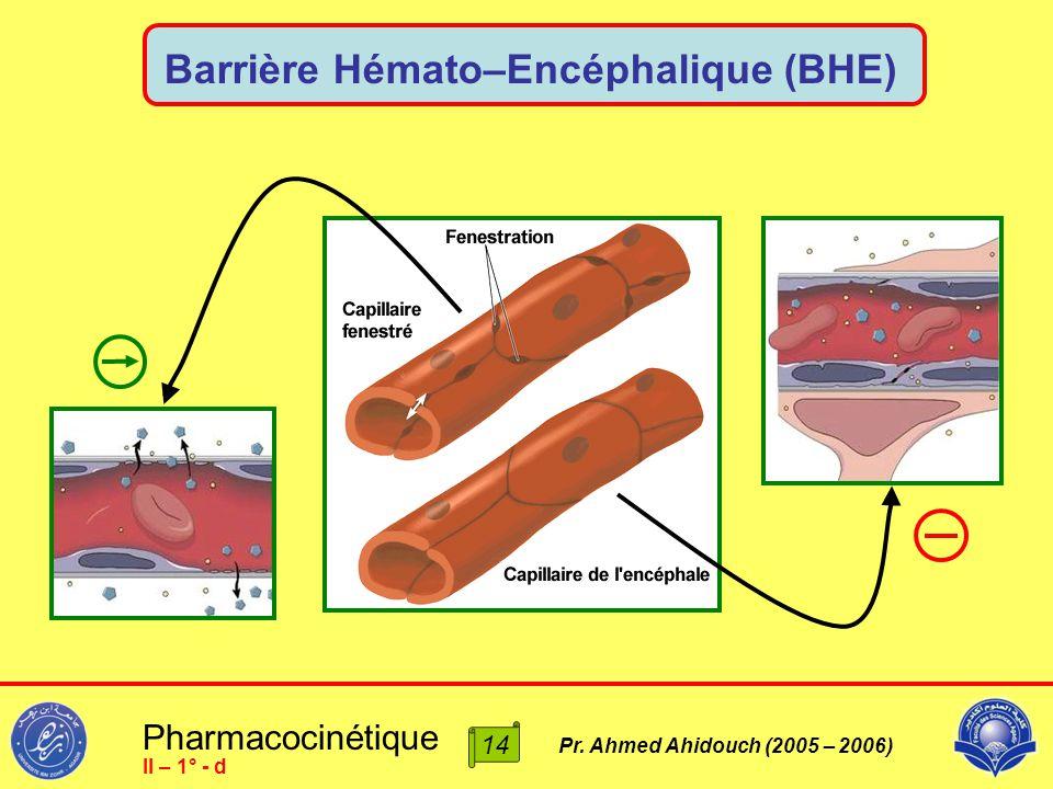 Barrière Hémato–Encéphalique (BHE)