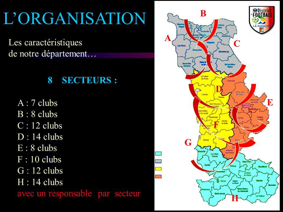 L'ORGANISATION B A Les caractéristiques C de notre département…