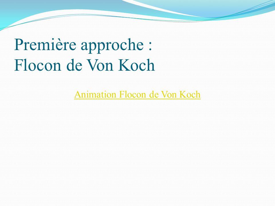 Première approche : Flocon de Von Koch