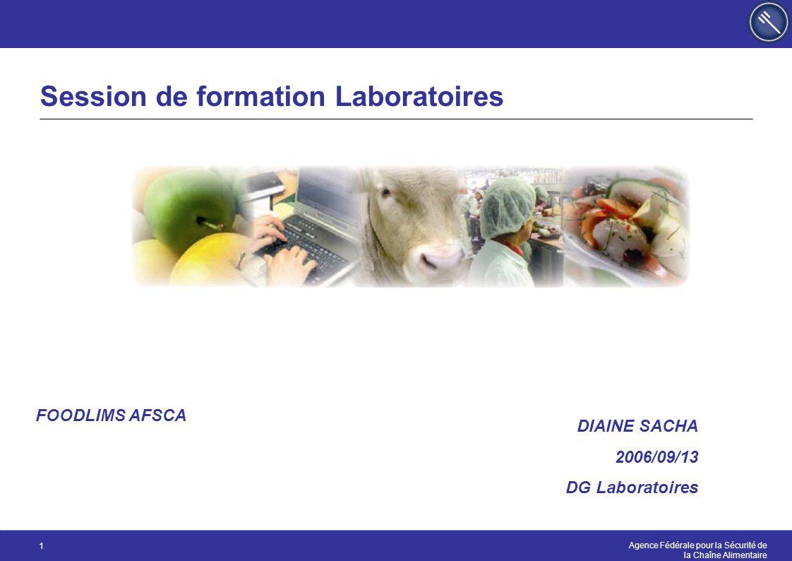 Session de formation Laboratoires