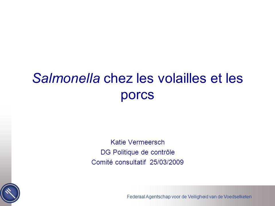 Salmonella chez les volailles et les porcs