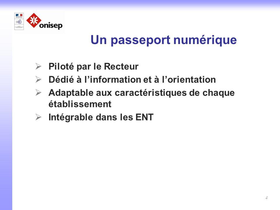 Un passeport numérique