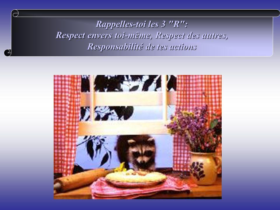 Respect envers toi-même, Respect des autres,