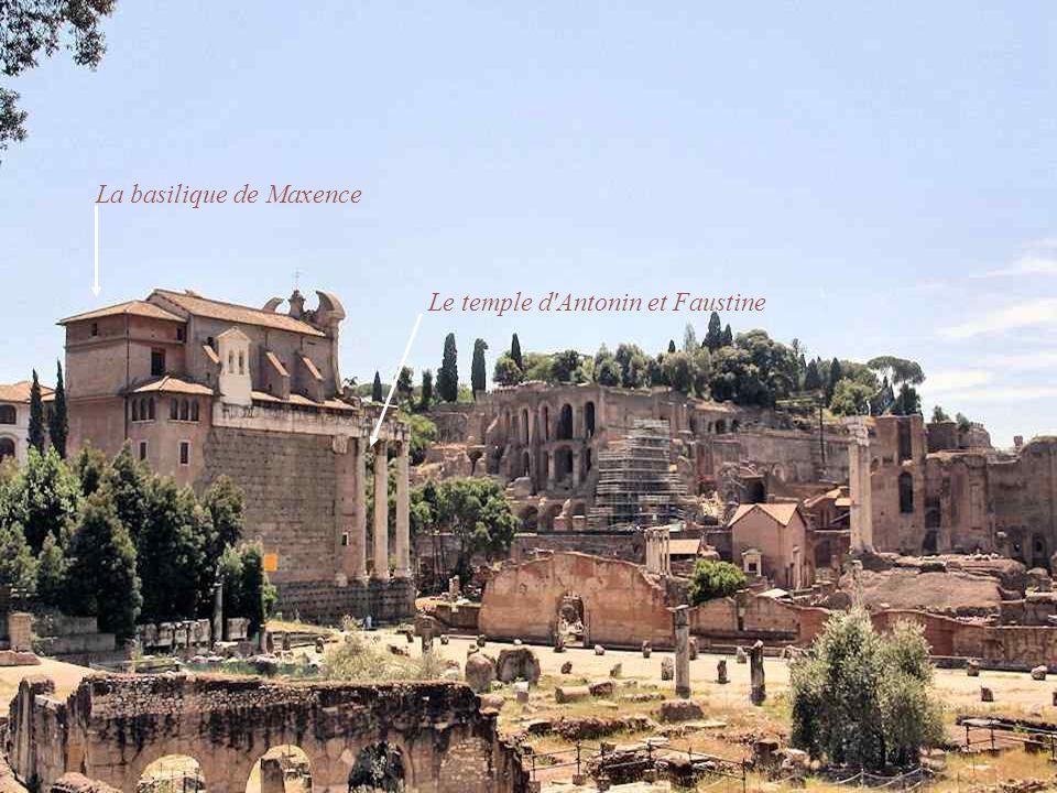 La basilique de Maxence
