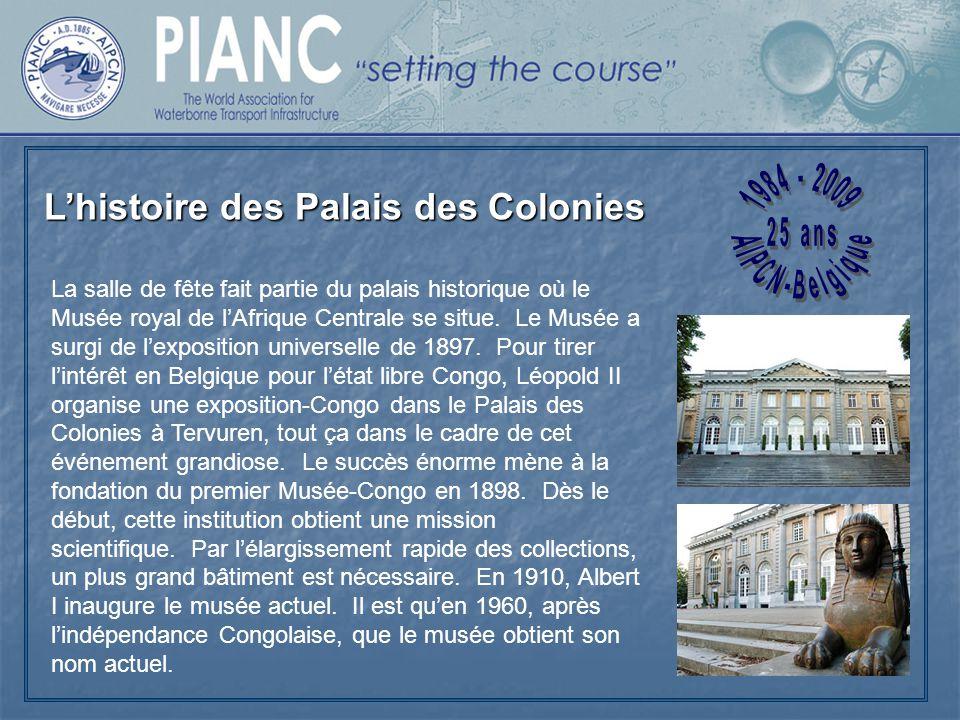 L'histoire des Palais des Colonies