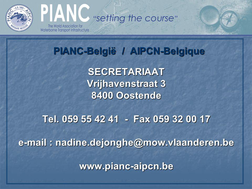 PIANC-België / AIPCN-Belgique