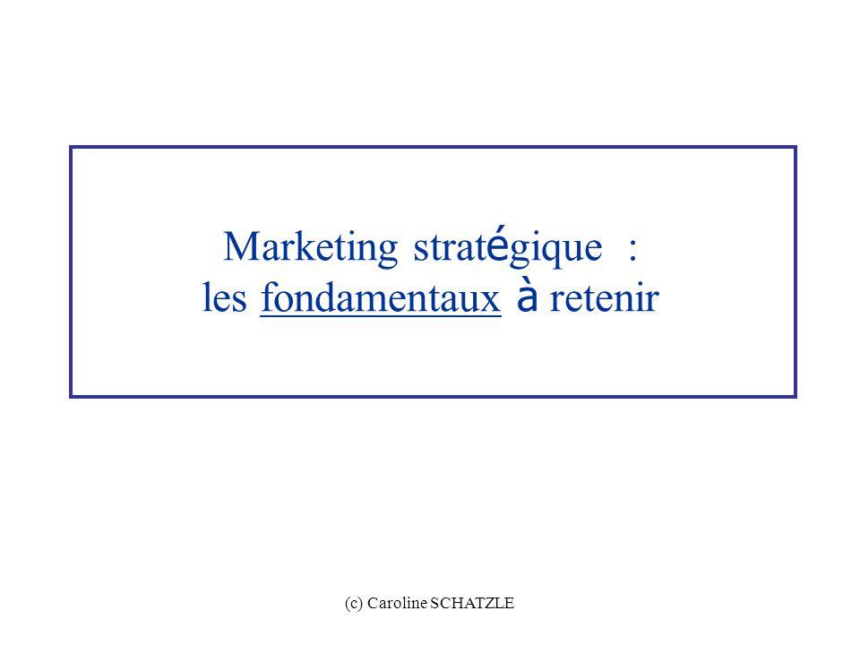 Marketing stratégique : les fondamentaux à retenir