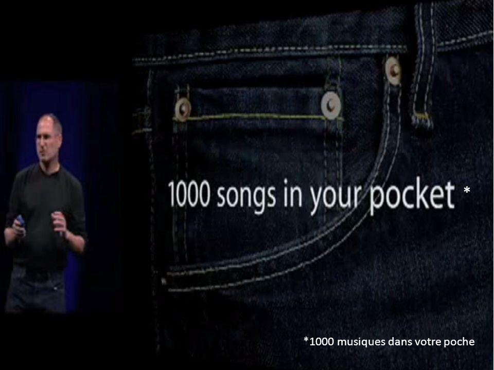 * *1000 musiques dans votre poche