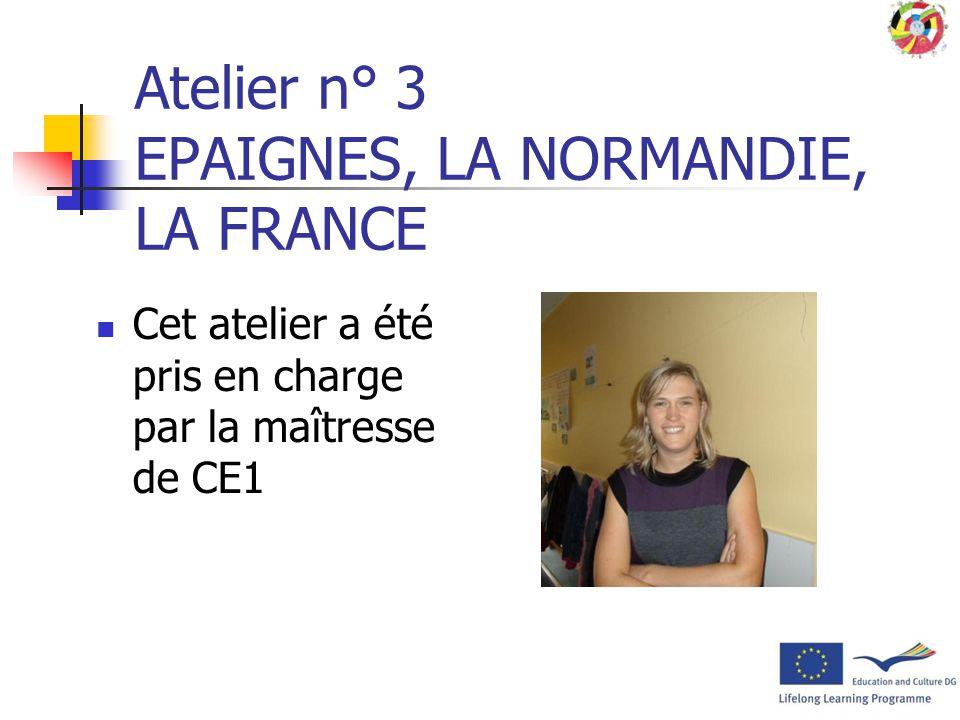 Atelier n° 3 EPAIGNES, LA NORMANDIE, LA FRANCE